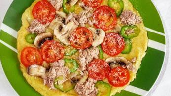 Frittata con tonno e verdure