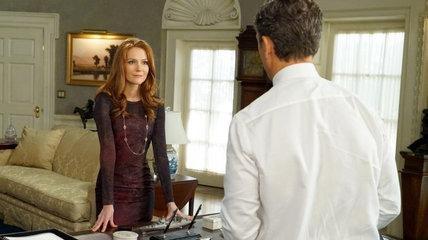 Abby e Fitz in una scena di Scandal 6