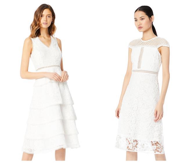 In pizzo e dalla linea corta, gli abiti da sposa di tendenza per l'estate 2018