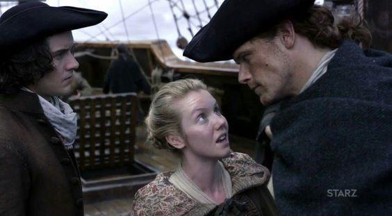 Jamie parla con Marsali e Fergus