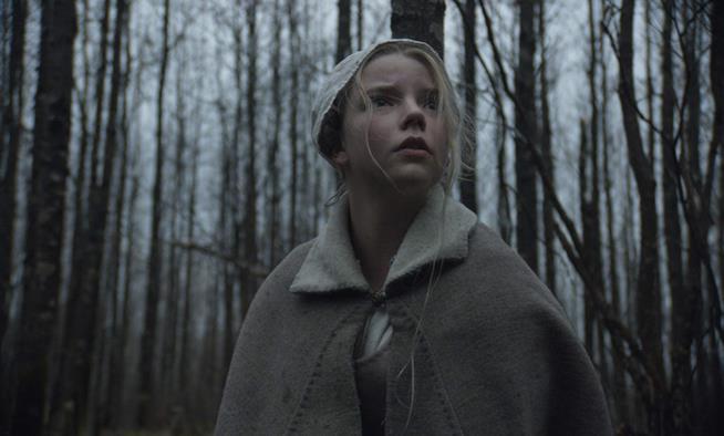 Anya Taylor-Joy in una scena di The Witch