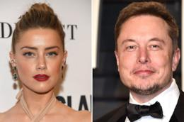 Amber Heard ed Elon Musk in due foto ufficiali
