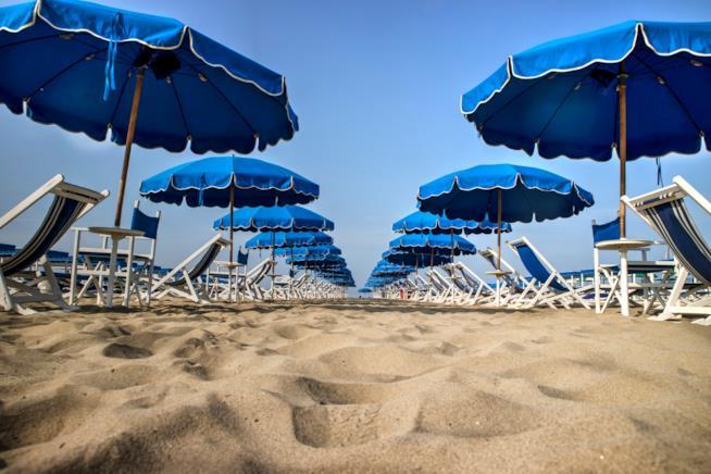 spiaggia di Eraclea a Mare