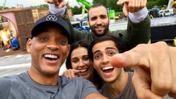 Il cast di Aladdin