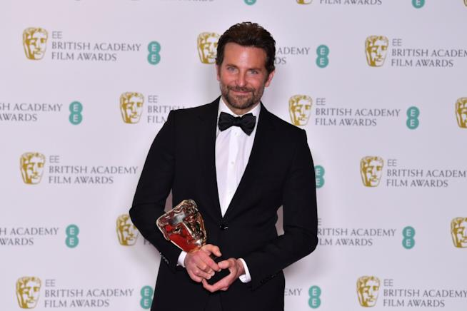Bradley Cooper ai BAFTA