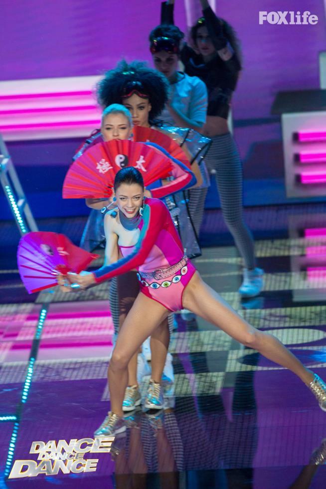 Le Donatella, esibizione quinto serale di Dance Dance Dance 2