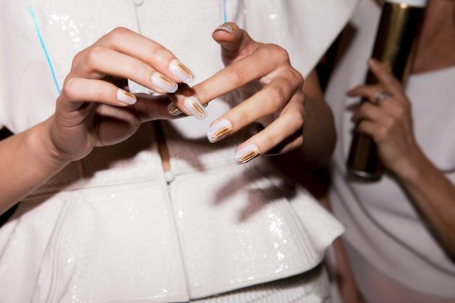 Nail art french per le spose