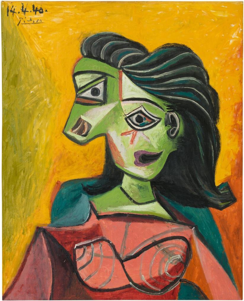 Dora Maar in un ritratto di Picasso del 1940