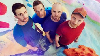I Coldplay per la pubblicazione di Kaleidoscope