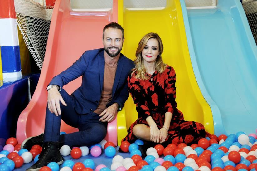 Flavio Montrucchio e Georgia Luzi al Luneur