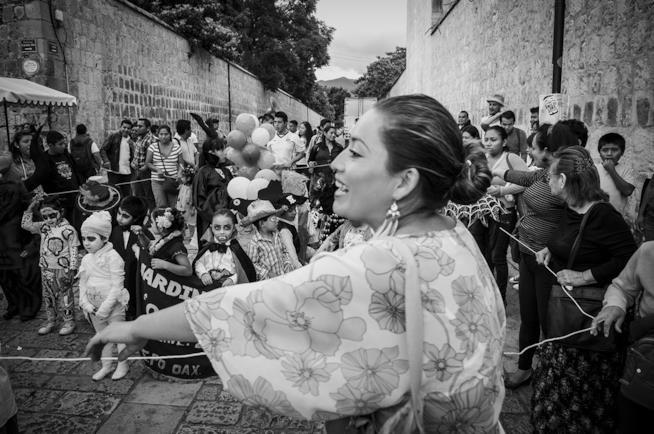 Festeggiamenti per il Dia de los Muertos in Messico