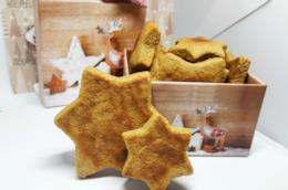 Biscotti a forma di stella