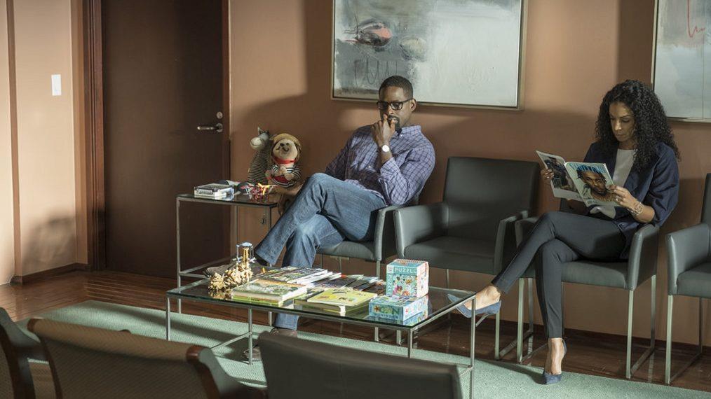 This Is Us 3: un'immagine promozionale di Randall e Beth