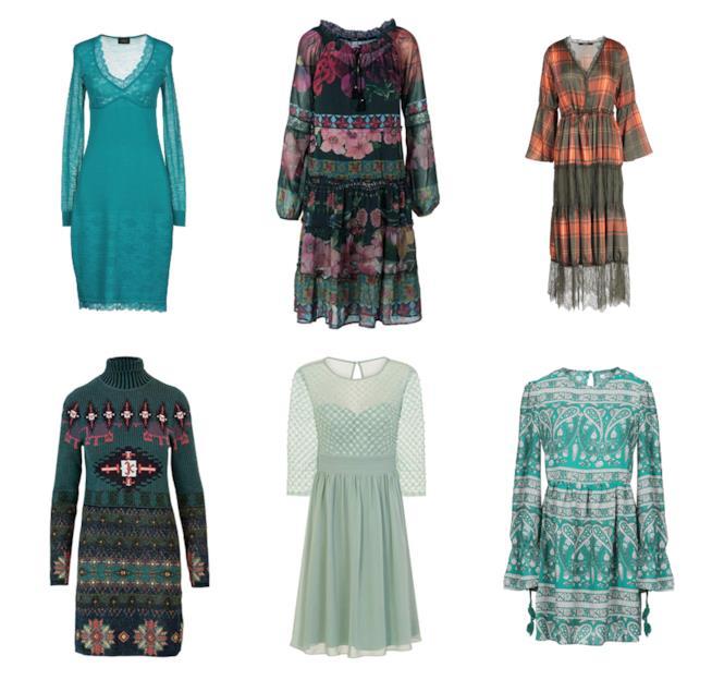 Verde, il colore di moda per gli abiti A/I 2018-19