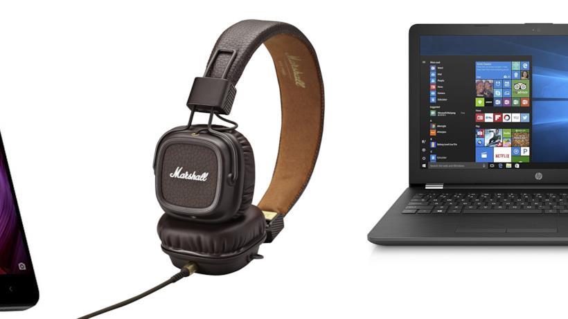 Cuffie, Smartphone e laptop in offerta per il Black Friday