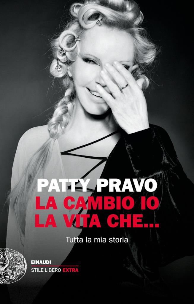 Copertina dell'autobiografia di Patty Pravo