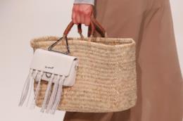 Rafia, paglia e bambù, le borse naturali per l'autunno 2018