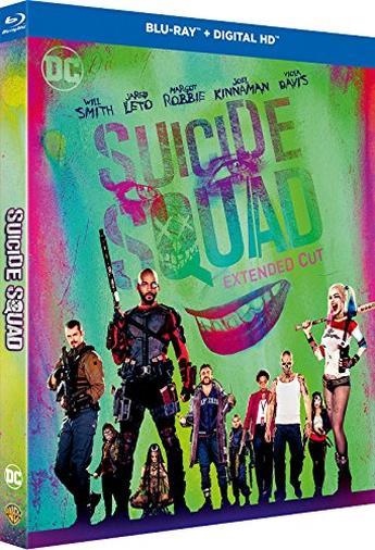 Blu-ray di Suicide Squad