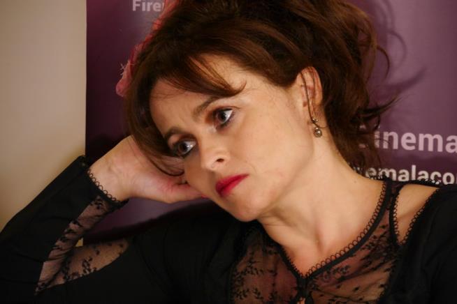 Helena Bonham Carter intervistata a Firenze
