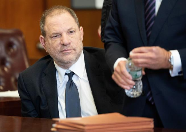 L'ex produttore Harvey Weinstein