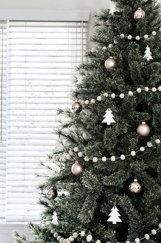 Foto Alberi Di Natale In Casa.100 Idee E Immagini Per Realizzare L Albero Di Natale