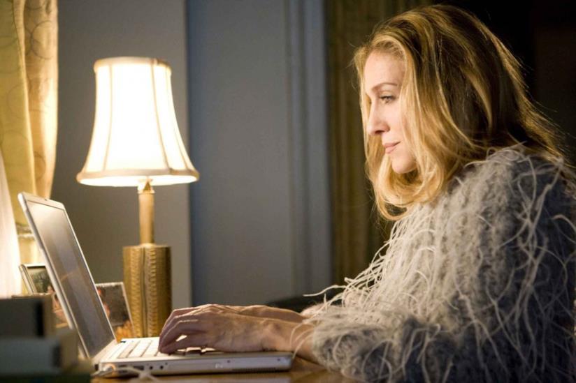 Carrie Bradshaw al pc