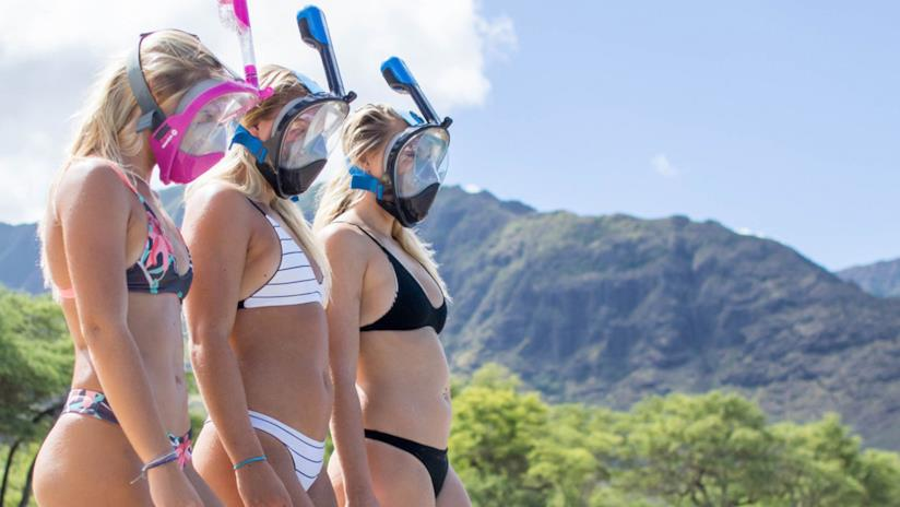 Maschere per Snorkeling integrali