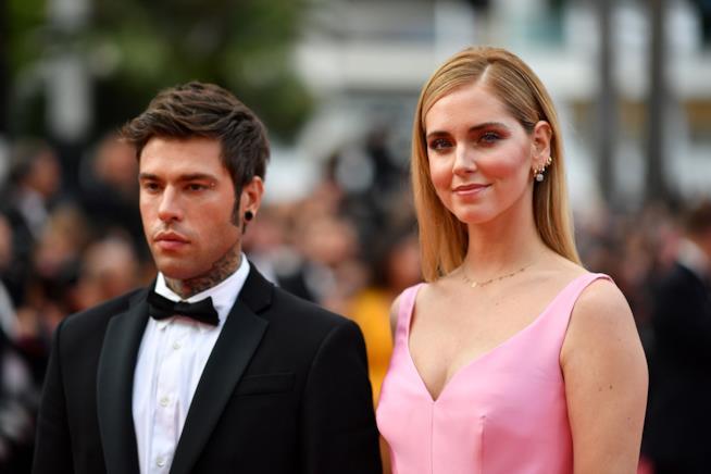 Chiara Ferragni e Fedez a Cannes