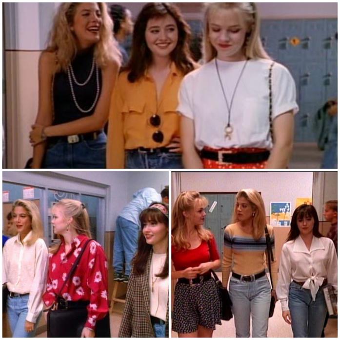 Donna, Brenda e Kelly in Beverly Hills 90210