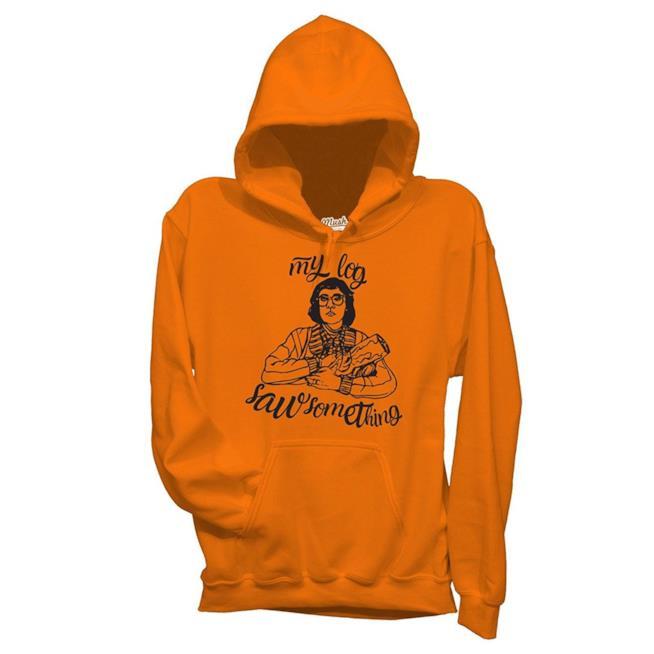 Felpa con cappuccio arancione Twin Peaks Signora Ceppo