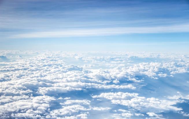 Giornata di sole con nuvole