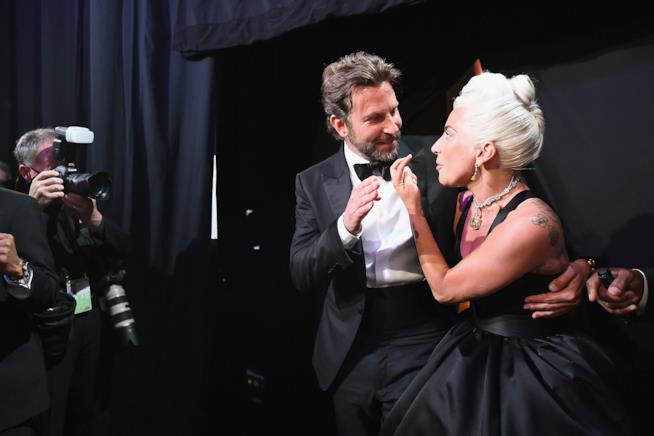 Bradleu Cooper e Lady Gaga