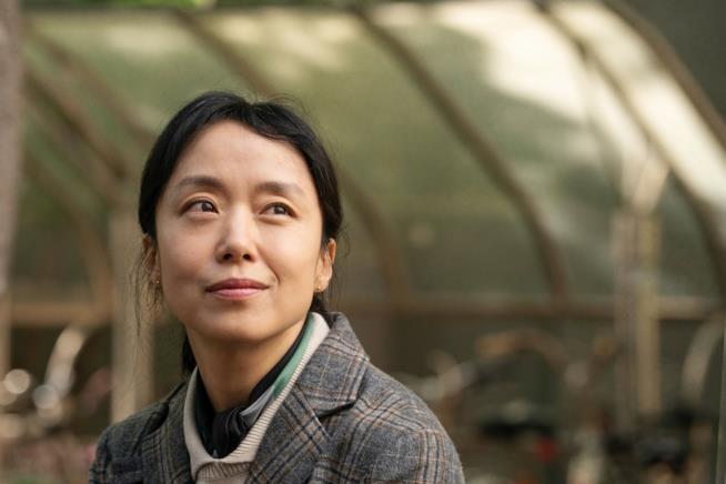 Una scena del film Birthday con Jeon Do Yeon