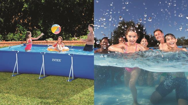 8 imperdibili piscine fuori terra da acquistare online for Piscine fuori terra intex prezzi