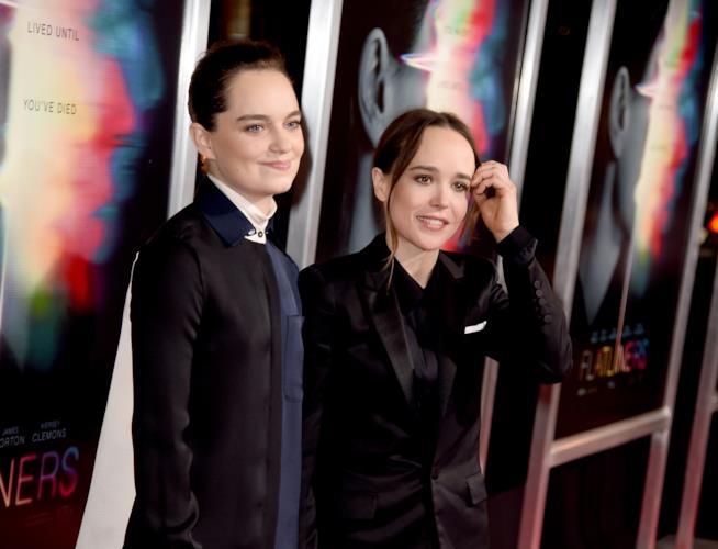Ellen Page e Emma Portner