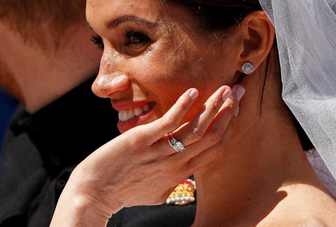 Meghan Markle e l'anello