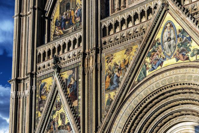 Particolare del Duomo di Orvieto