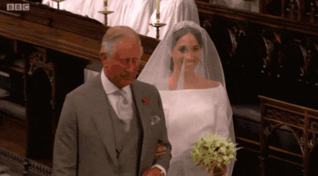 Meghan Markle vede Harry al matrimonio