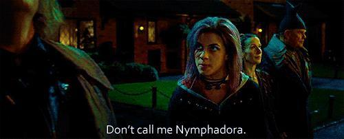Nymphadora Tonks arrabbiata in Harry Potter