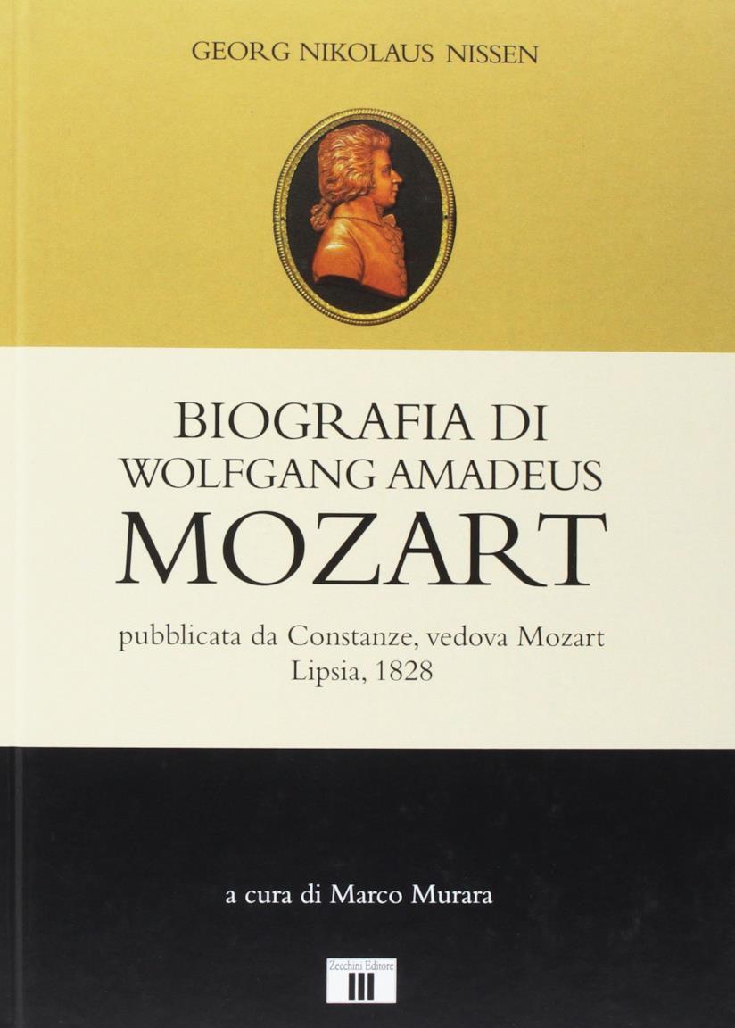 Copertina del libro su Mozart