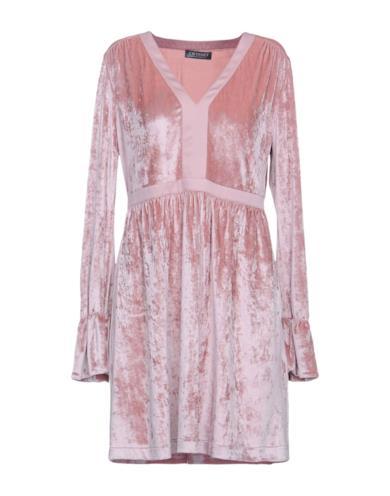 Vestito corto rosa