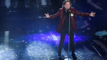 L'esibizione di Red Canzian al Festival di Sanremo 2018
