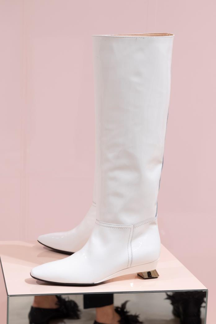 Stivali bianchi autunno 2019