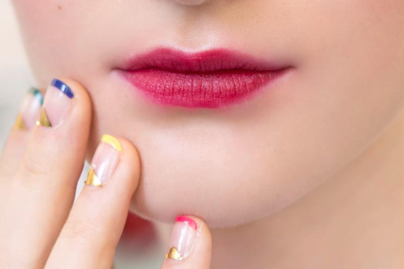 Nail art french colorata