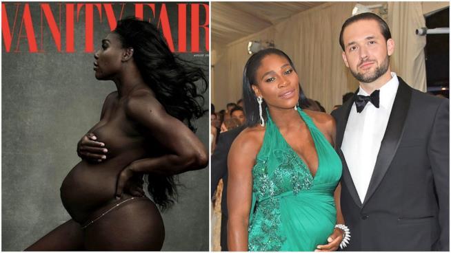 Gli scatti senza veli di Serena Williams