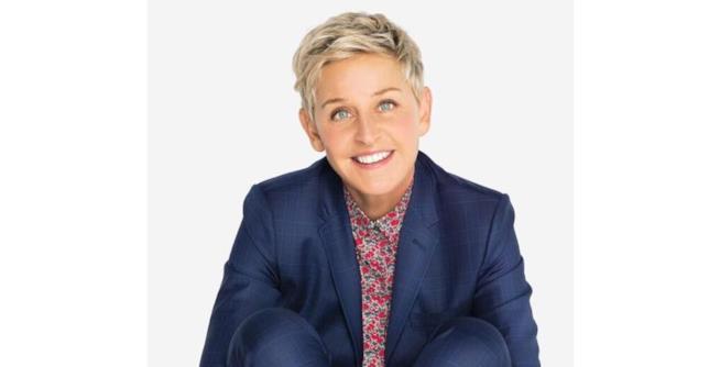 La conduttrice Ellen Degeneres