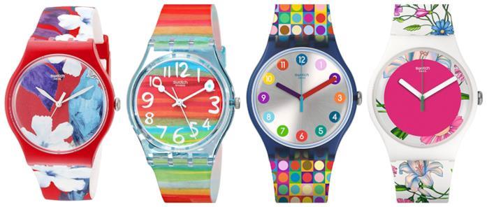 Multicolore, gli orologi da donna di tendenza per l'estate 2018