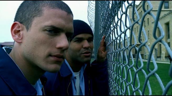 Una immagine tratta dalla serie TV Prison Break