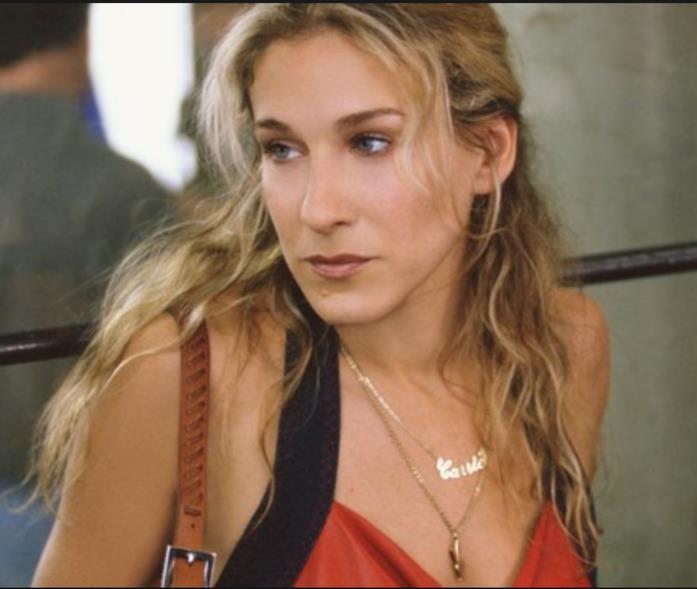 La collana col nome di Carrie Bradshaw