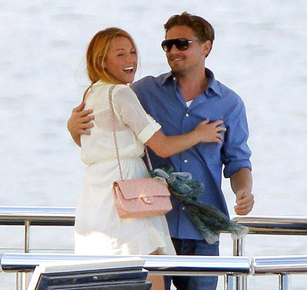 Un vecchio scatto di Blake Lively e Leonardo DiCaprio